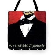 1919 - John Drinkwater's Play Abraham Lincoln Theatrical Poster - Color Tote Bag