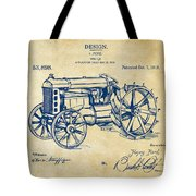 1919 Henry Ford Tractor Patent Vintage Tote Bag