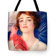 1919 - Land Of My Dreams By Anita Owen Sheet Music - Color Tote Bag
