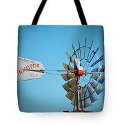 1920 Aermotor Windmill Tote Bag