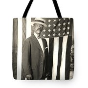 1920 The Proud American Tote Bag by Historic Image