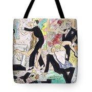 1920s Party 2 Tote Bag