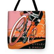 1921 - Van Hauwaert Bicycle Belgian Advertisement Poster - Color Tote Bag