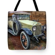 1921 Hudson-featured In Vehicle Enthusiasts And Comfortable Art And Photography And Textures Groups Tote Bag