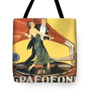 1922 - Columbia Gramophone Company Italian Advertising Poster - Color Tote Bag
