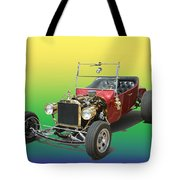 1923  Ford T Bucket  Tote Bag by Jack Pumphrey