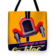 1924 - Ca-bloc Brakes French Advertisement Poster - Color Tote Bag