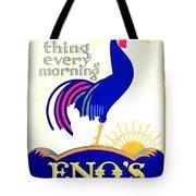 1924 - Eno's Fruit Salt Advertisement - Color Tote Bag