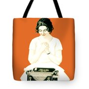 1924 - Olivetti Typewriter Advertisement Poster - Color Tote Bag