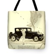 1924 - Rickenbacker Automobile Advertisement Tote Bag