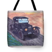 1924' Ford Model-t Touring Tote Bag