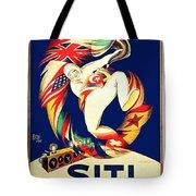 1925 - Siti Radio Receiver Advertisement Poster - Color Tote Bag