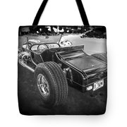 1925 Ford Model T Hot Rod Bw Tote Bag