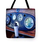 1925 Stutz Series 695h Speedway Six Torpedo Tail Speedster Dashboard Instruments Tote Bag