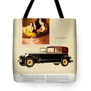 1926 - Packard Automobile Advertisement - Color Tote Bag