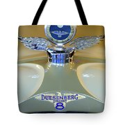 1926 Duesenberg Model A Boyce Motometer Tote Bag