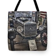 1926 Ford Model T Runabout Tote Bag by Douglas Barnard