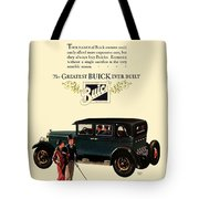 1927 - Buick Automobile - Color Tote Bag