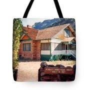 1927 Pendley Homestead House Sedona Tote Bag