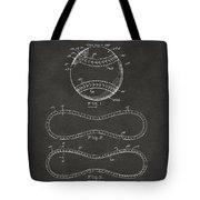 1928 Baseball Patent Artwork - Gray Tote Bag
