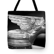 1928 Buick Custom Speedster Hood Ornament 3 Tote Bag by Jill Reger