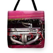 Antique Car Engine Tote Bag