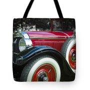 1928 Hupmobile Century Model E4 4 Door Sedan Tote Bag