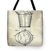 1928 Milk Pail Patent Drawing Tote Bag