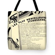 1929 - Studebaker Automobile Franch Advertisement Tote Bag