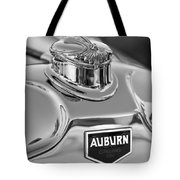 1929 Auburn 8-90 Speedster Hood Ornament 2 Tote Bag by Jill Reger