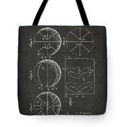 1929 Basketball Patent Artwork - Gray Tote Bag