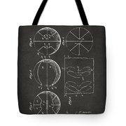 1929 Basketball Patent Artwork - Gray Tote Bag by Nikki Marie Smith