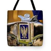 1929 Bianchi S8 Graber Cabriolet Hood Ornament And Emblem Tote Bag
