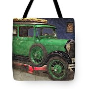 1929 Ford Model A By Liane Wright Tote Bag