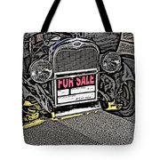 1929 Ford Model A For Sale Tote Bag
