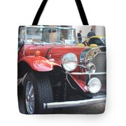 1929 Mercedes Benz Front And Side View Tote Bag