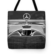 1929 Mercedes-benz S Erdmann - Rossi Cabiolet Hood Ornament Tote Bag