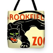 1930 - Brookfield Zoo Poster - Boston - Color Tote Bag