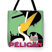 1930 - Pelican Cigarettes French Advertisement Poster - Color Tote Bag