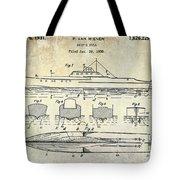1930 Ship's Hull Patent Drawing Tote Bag