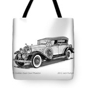 1931 Cadillac Phaeton Tote Bag by Jack Pumphrey