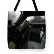 Antique Car Hood Tote Bag