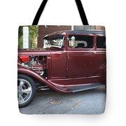 1930 Ford Two Door Sedan Side View Tote Bag