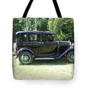 1930 Model-a Town Car 1 Tote Bag