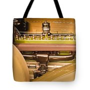1930 Packard Speedster Runabout Engine -0539c Tote Bag