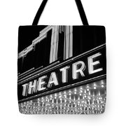 1930s 1940s Theater Marquee Theatre Tote Bag