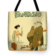 1931 - Fantasio French Magazine Cover - September - Color Tote Bag