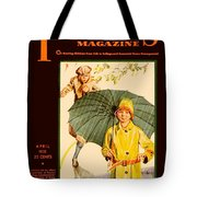 1931 - Parents Magazine - April - Color Tote Bag