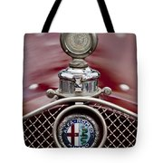 1931 Alfa-romeo Hood Ornament Tote Bag