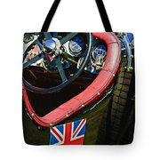 1931 Bentley 4.5 Liter Supercharged Le Mans Steering Wheel -1255c Tote Bag